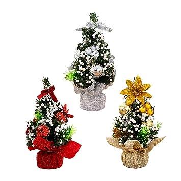 Weihnachtsbaum Klein Geschmückt.Restbuy Künstlich Weihnachtsbaum Mini Weihnachtsbäume Klein Mit
