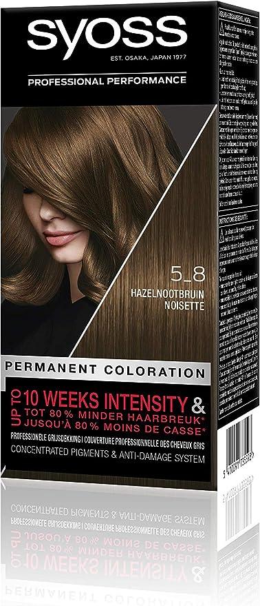 Syoss Color baseline 5-8 - Tinte para cabello, color rojo ...