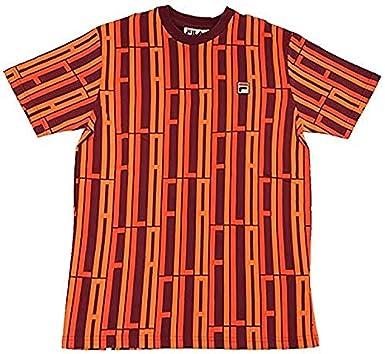 6e1055e237 Fila Lia All Over Print T-Shirt at Amazon Women's Clothing store