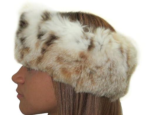 03f3ac17fe17a USA Lynx Neck Warmer Collar   Headband at Amazon Women s Clothing ...