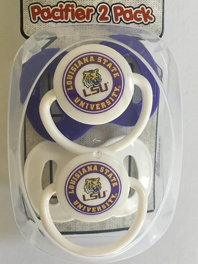 Amazon.com: LSU Tigers juego de regalo de bebé sin BPA No ...