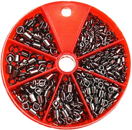 Angelwirbel mit tragbarer Organizer-Box 300 St/ück Kupfer Runde Ecken