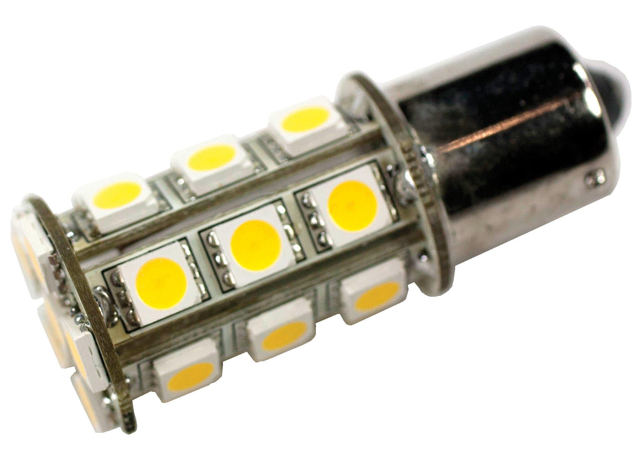 Arcon 50377 Soft White 12 Volt 24-LED Bulb, (Pack of 6)