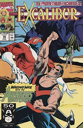 52 pages USA, 1991 Avengers West Coast # 75