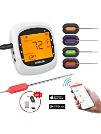 Grill Thermometers Amazon Com