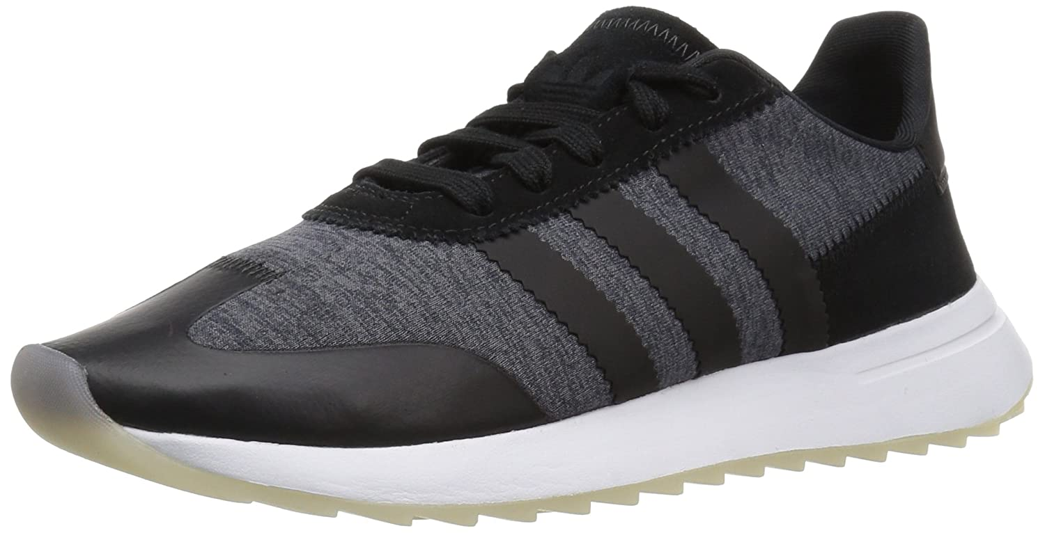 adidas Originals Women's FLB_Runner W Running Shoe B0714CQNHM 7.5 B(M) US|Core Black/White/Grey Five