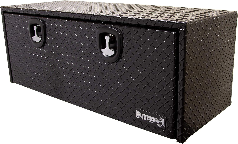 Buyers Products 1725101 Toolbox Aluminum, 18X18X18, BLK PDR Coat
