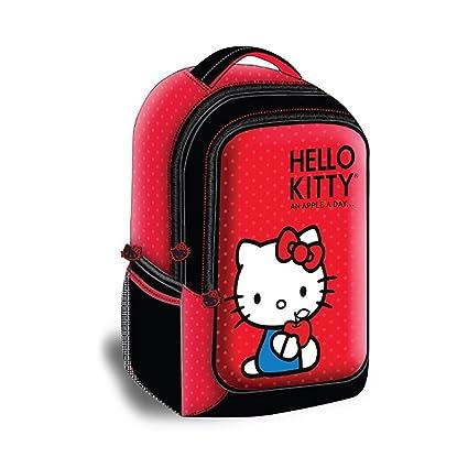 Hello Kitty kt4337r estilo mochila para portátil rojo