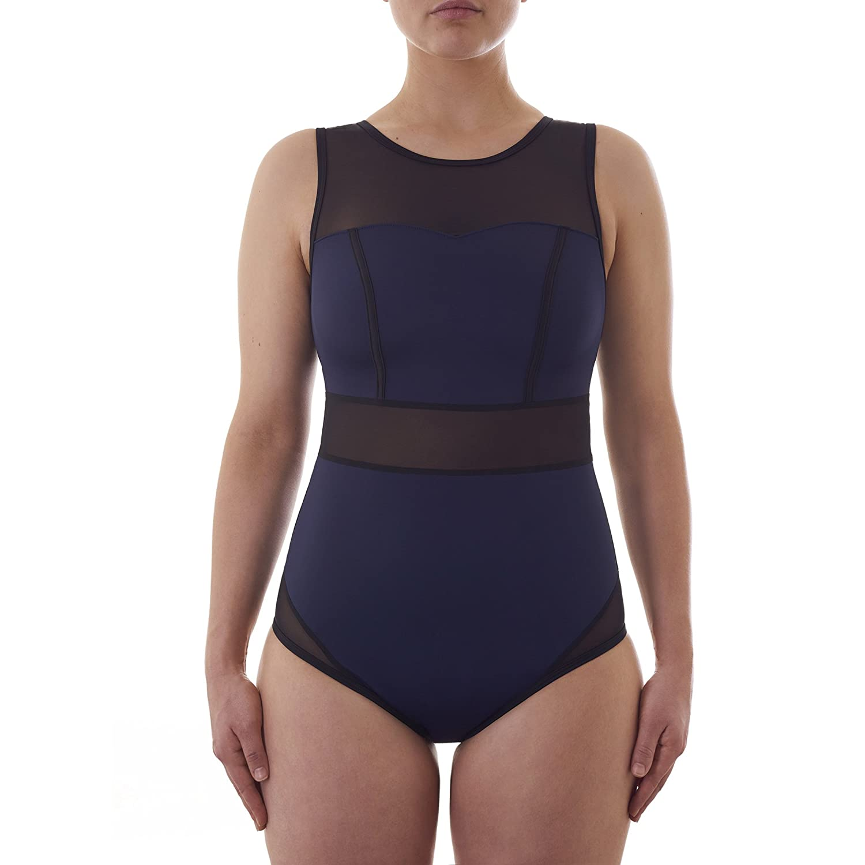 54ef477435f1e Signature Swimsuit - Navy  Amazon.co.uk  Sports   Outdoors