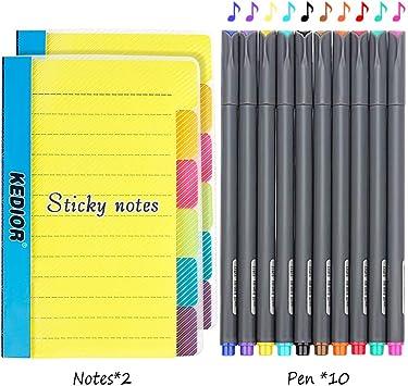 Sticky Notes Haftnotizen Notizzettel Marker Reise Flugzeug Scrapbooking Koffer