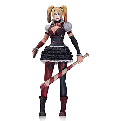 DC Collectibles Batman: Arkham Knight: Harley Quinn Action Figure: Toys & Games