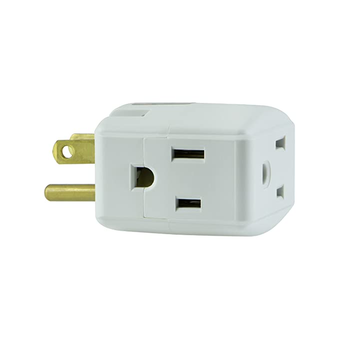 Review GE Grounded 3-Outlet Tap,