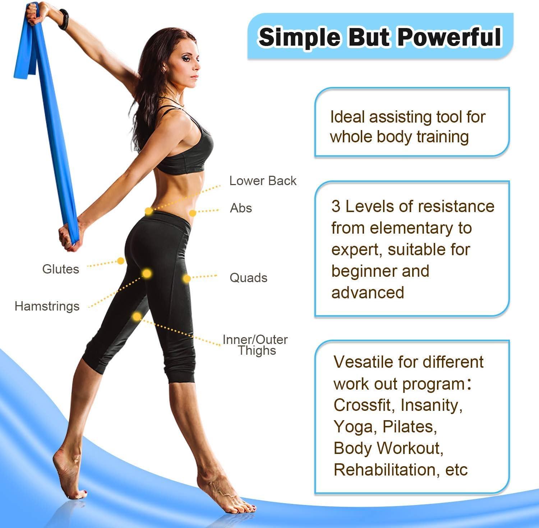 Utile de Résistance Exercice Entraînement Tube Heavy Fitness Band Yoga Physio CrossFit