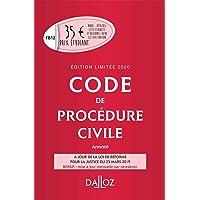 Code de procédure civile 2020 annoté. Édition limitée - 111e éd.