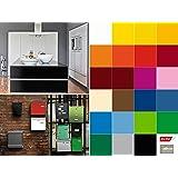 d c fix folie uni lack mint ral 6027 selbstklebend rolle 45 cm x 200 cm k che. Black Bedroom Furniture Sets. Home Design Ideas