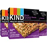 KIND Healthy Grains Granola Bars, Maple Pumpkin Seeds with Sea Salt, Gluten Free, 1.2oz Bars, 15 Count