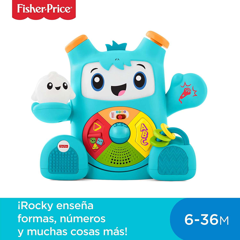 Fisher-Price Rocky Roquero, juguete electrónico bebé +6 meses ...