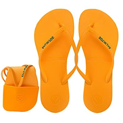 5c54780c6357 Salvatos Foldable Flip Flops on The go -Flexible