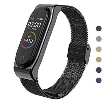 Mijobs Correas de Xiaomi Mi Band 3 Correa Bracelet,Wrist Strap Replacement Band para Xiaomi Mi Band 3 (No Host)