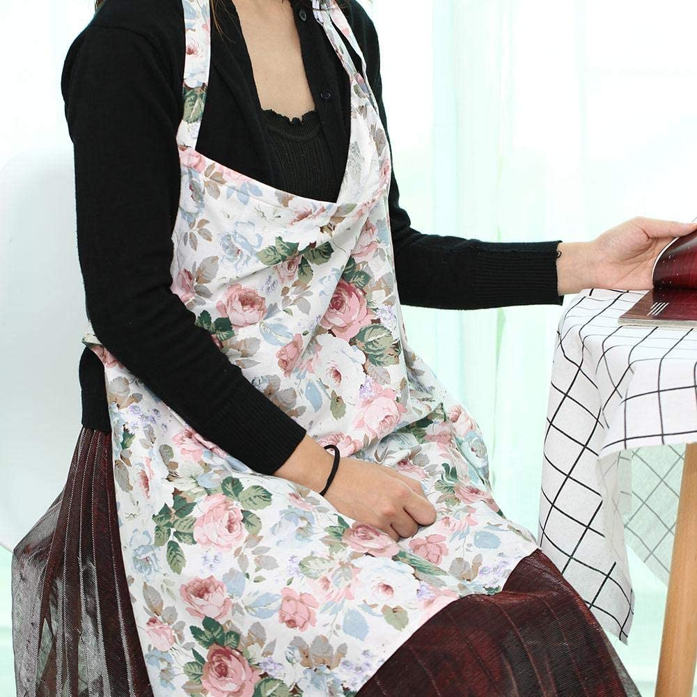 Fleur Couverture dallaitement en coton doux couverture dallaitement en coton couverture ch/âle tablier respirant couvrir avec une poche assortie gratuite pour lallaitement des b/éb/és
