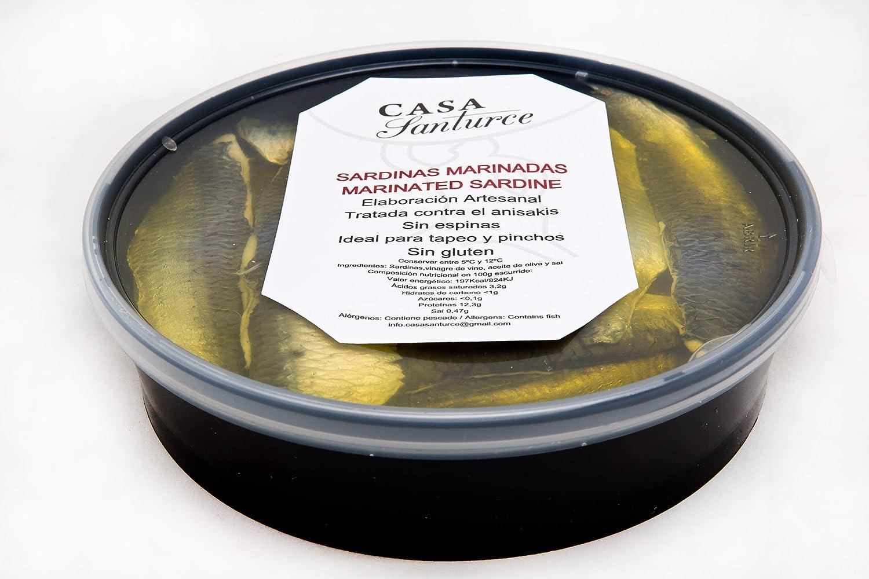 Sardinas marinadas calidad Suprema, CASA Santurce.