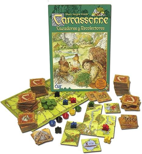 Devir - Carcassonne Cazadores y Recolectores, Juego de Mesa ...