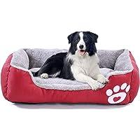 LUOWAN Cama para perros medianos, lavable a máquina, gruesa cama para mascotas con parte inferior antideslizante, apto…