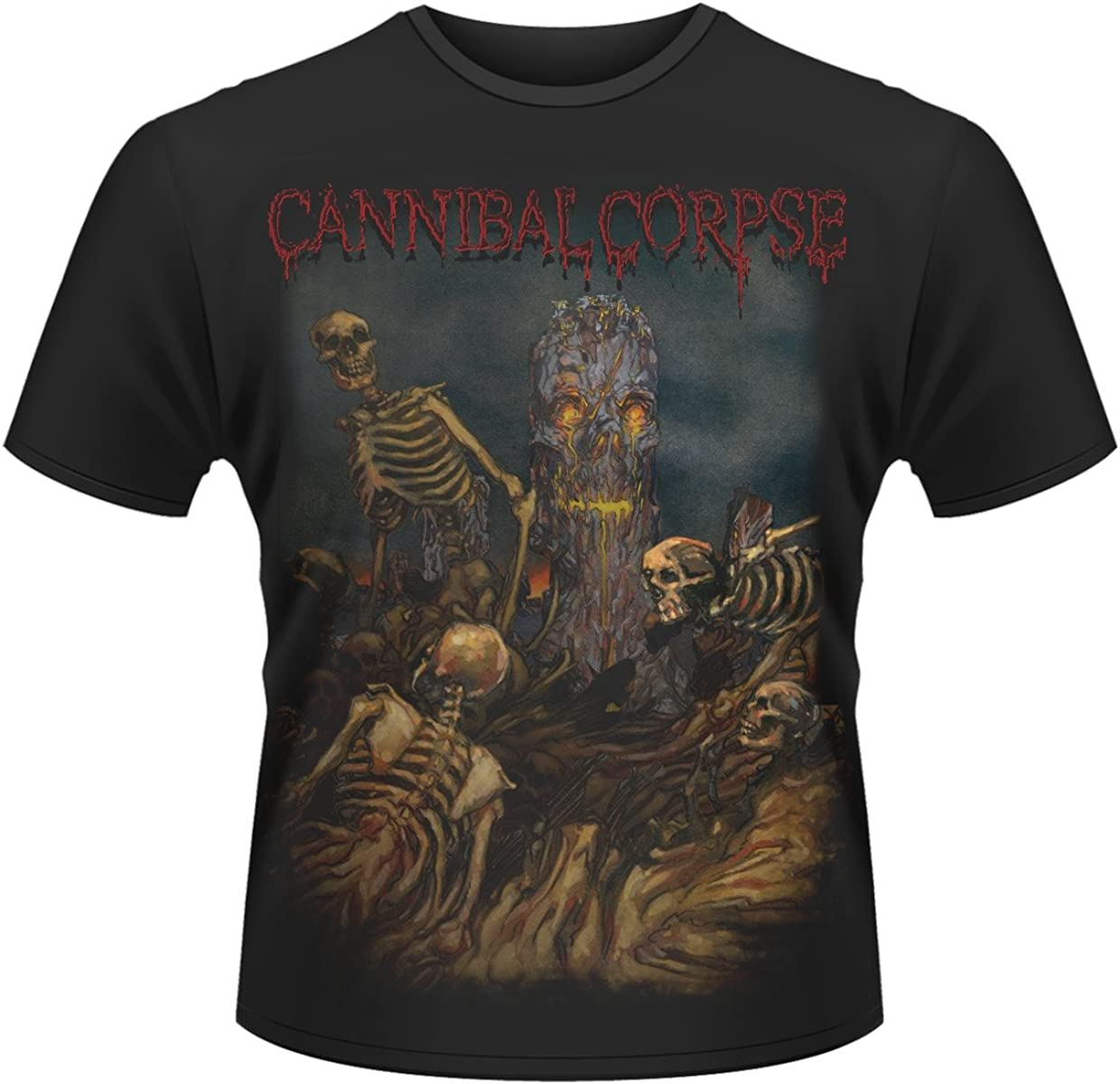 A Skeletal Domain Band T-Shirt Cannibal Corpse