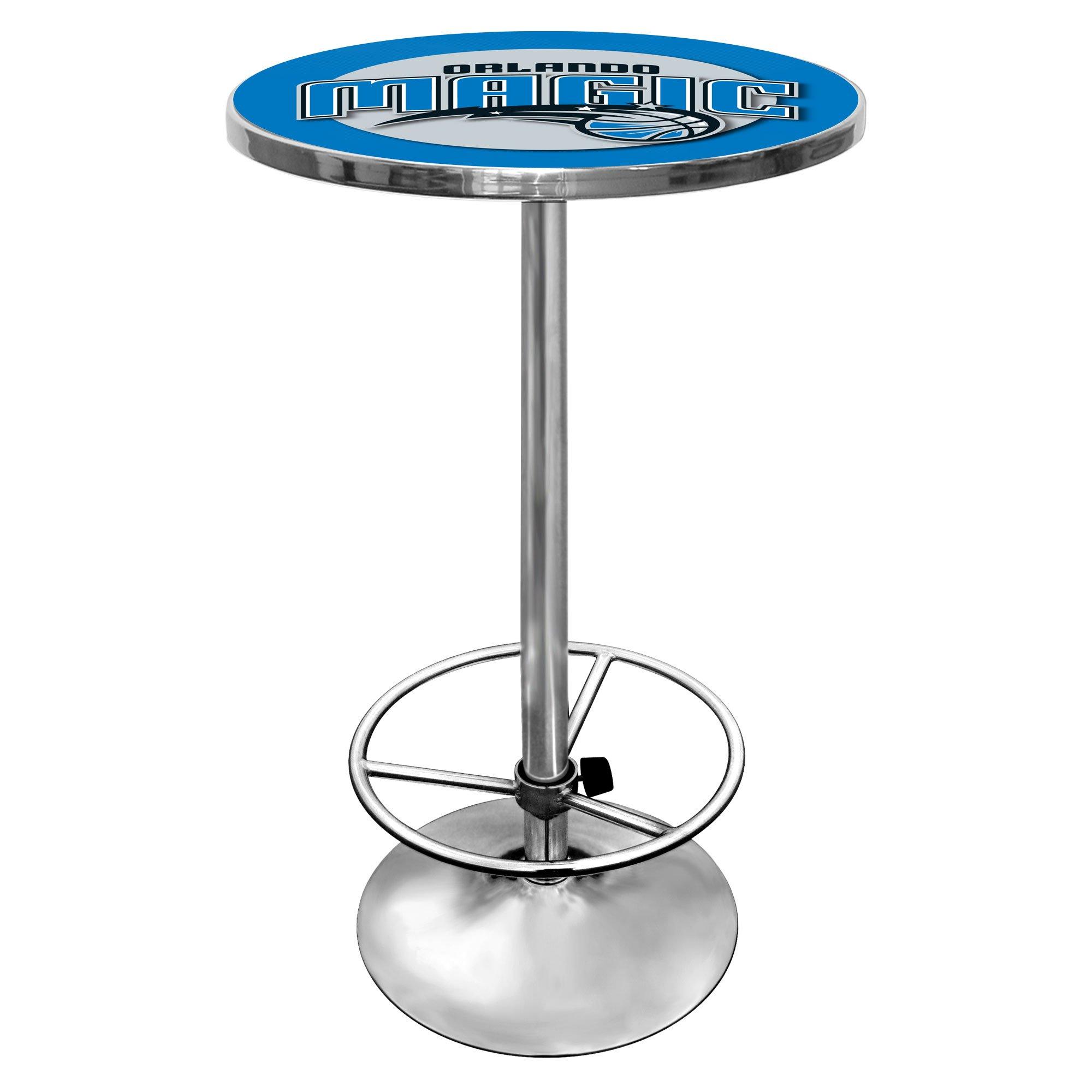 NBA Orlando Magic Chrome Pub Table