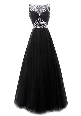 Black Princess Prom Dress