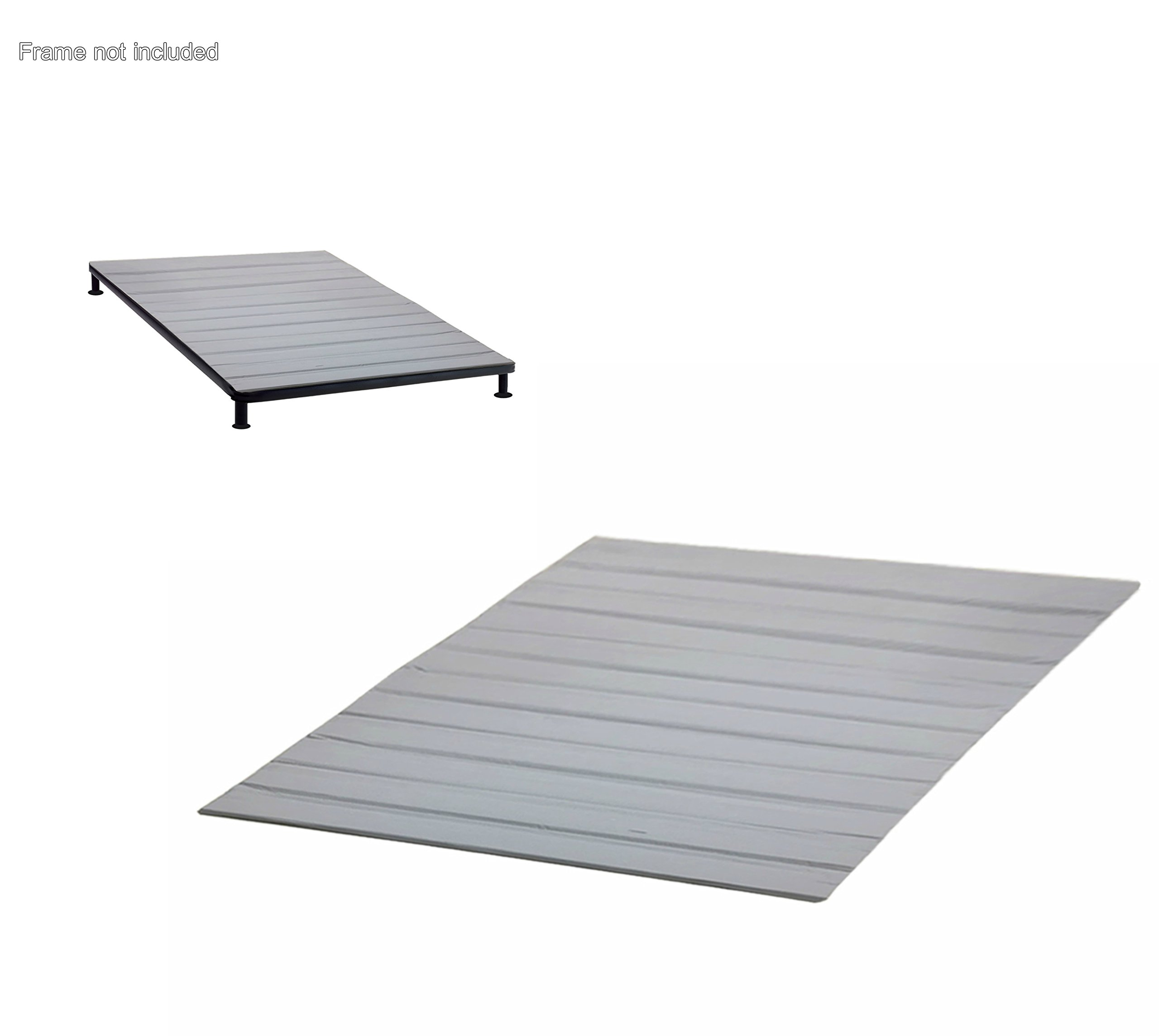 Continental Sleep, Standard Mattress Support Bunkie Board/Slats with Cover |Twin XL Size|
