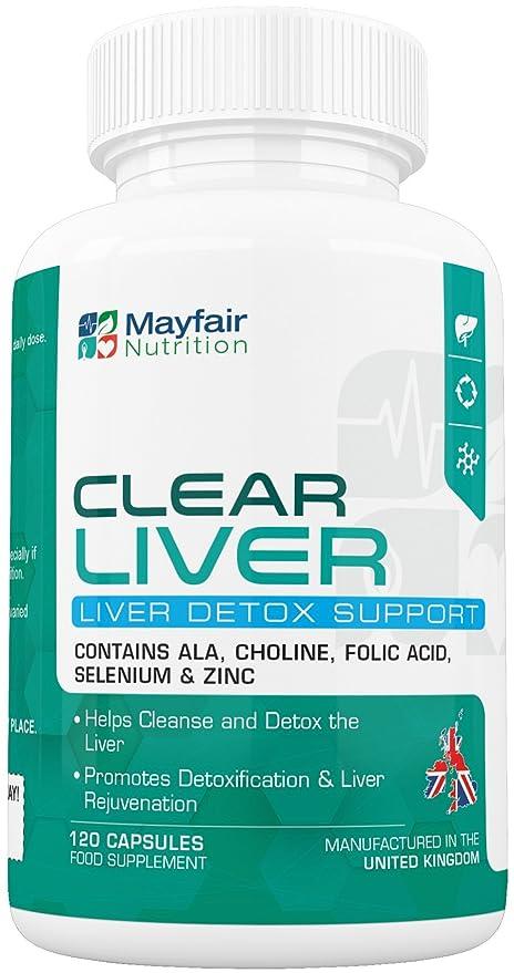 Depuración de hígado con Clear Liver | Desintoxicante de calidad con colina, selenio y col