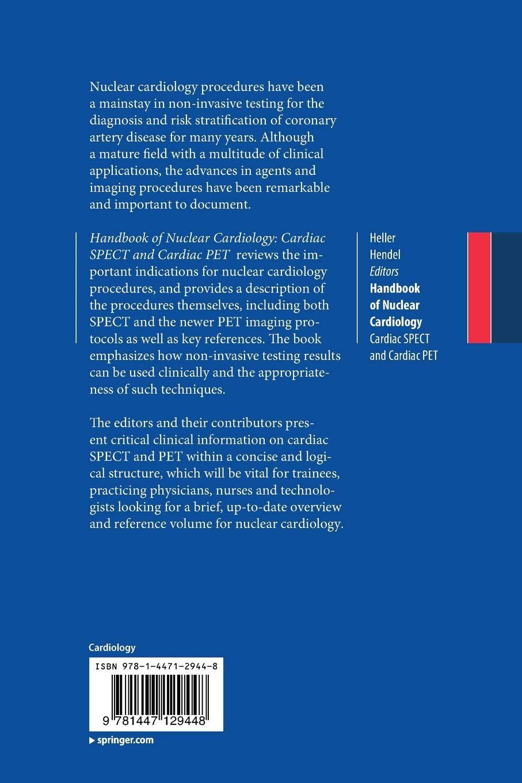Handbook of Nuclear Cardiology: Cardiac SPECT and Cardiac PET