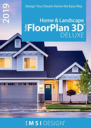Amazon Com Turbofloorplan Home Landscape Deluxe 2019 Pc Download Software