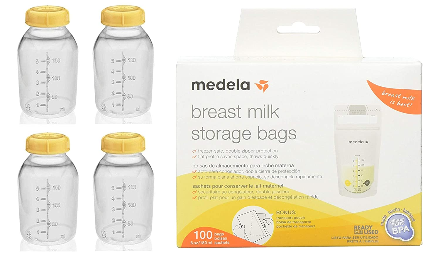 Amazon.com : Medela Breast Milk Collection Storage Feeding ...