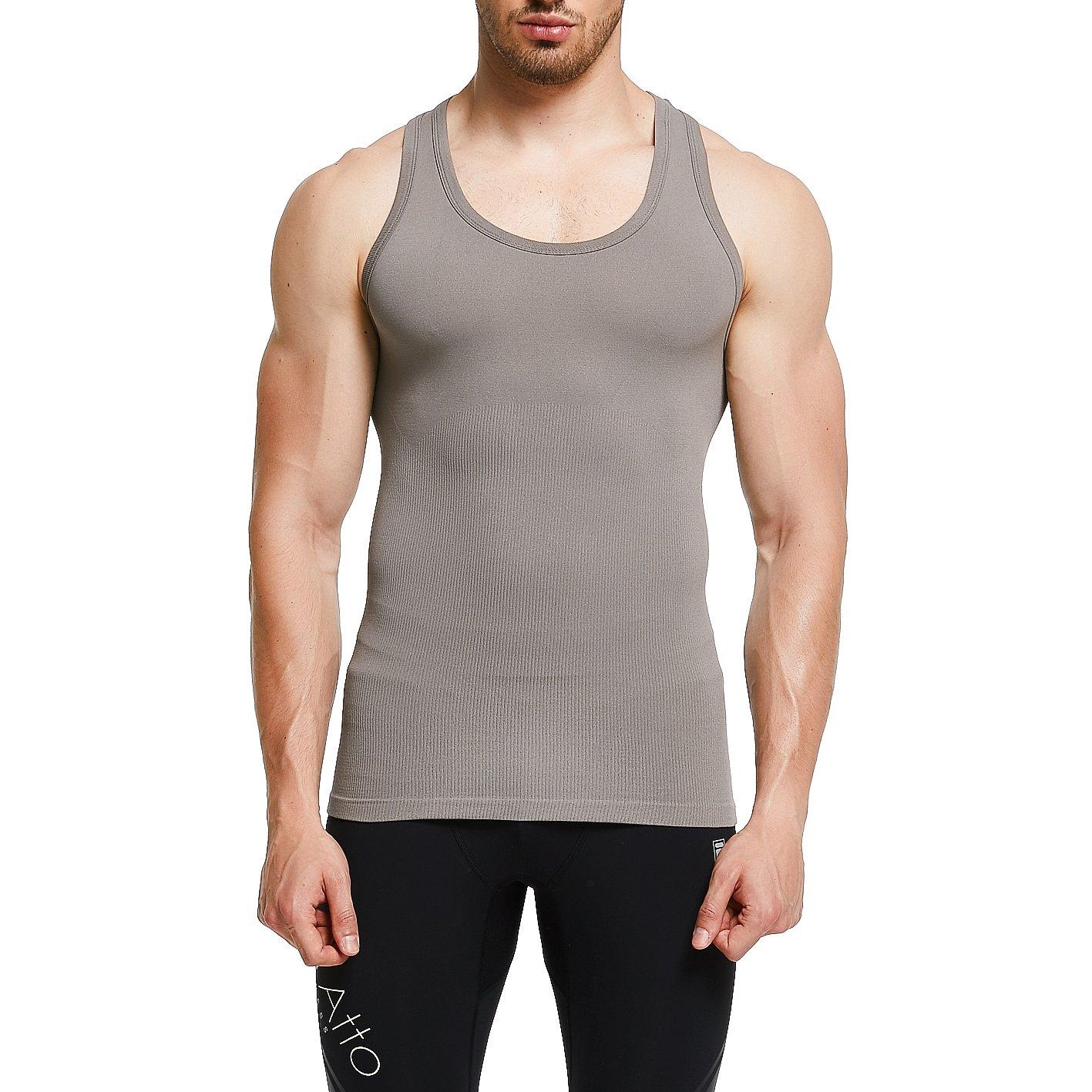 Mens Slimming Shirt Body Shaper Vest Abs Abdomen Slim gkvk gkvk-gg369