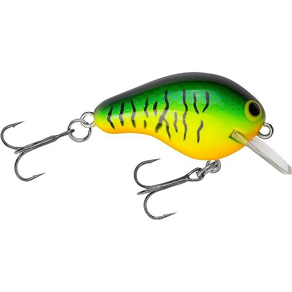 "3//4 oz 2 1//2/"" Fishing Lure Realistic Shad Bagley Flat Balsa B2"