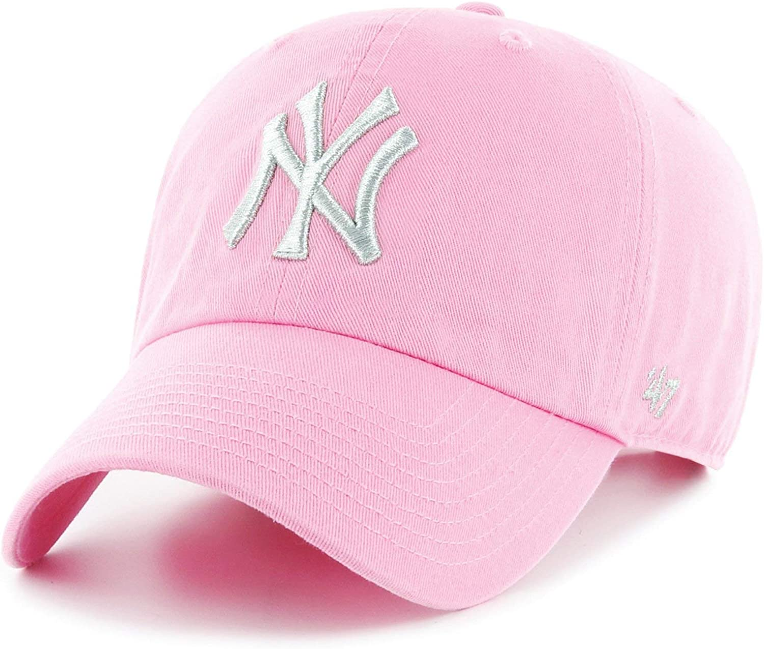 47 Mujer Brand MLB New York Yankees Metallic C Gorra Not ...