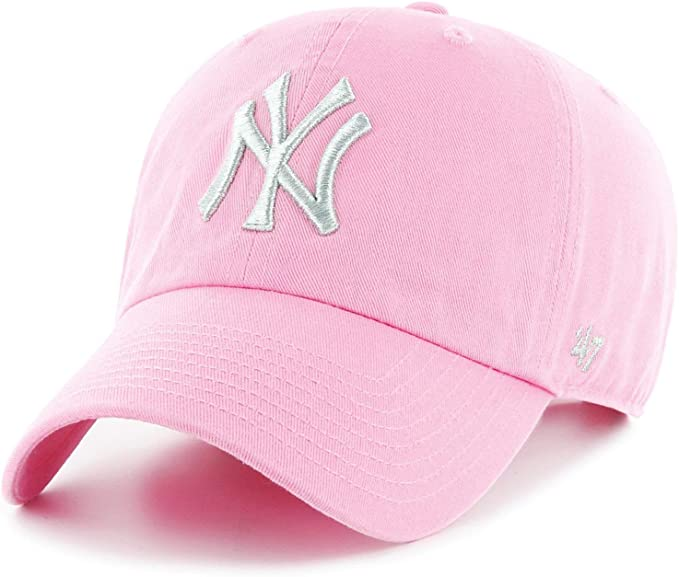 47 Mujer Brand MLB New York Yankees Metallic C Gorra Not ...