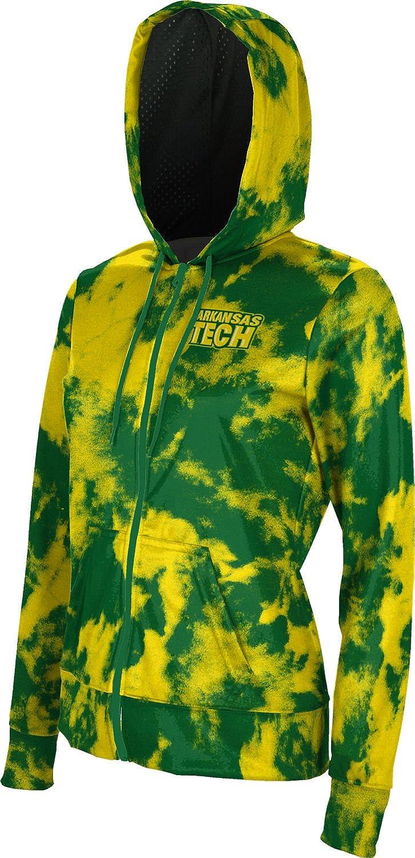 School Spirit Sweatshirt Grunge ProSphere Arkansas Tech University Girls Zipper Hoodie