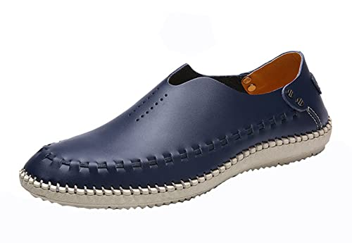   WSKEISP Men's Leather Oxford Dress Shoes Formal