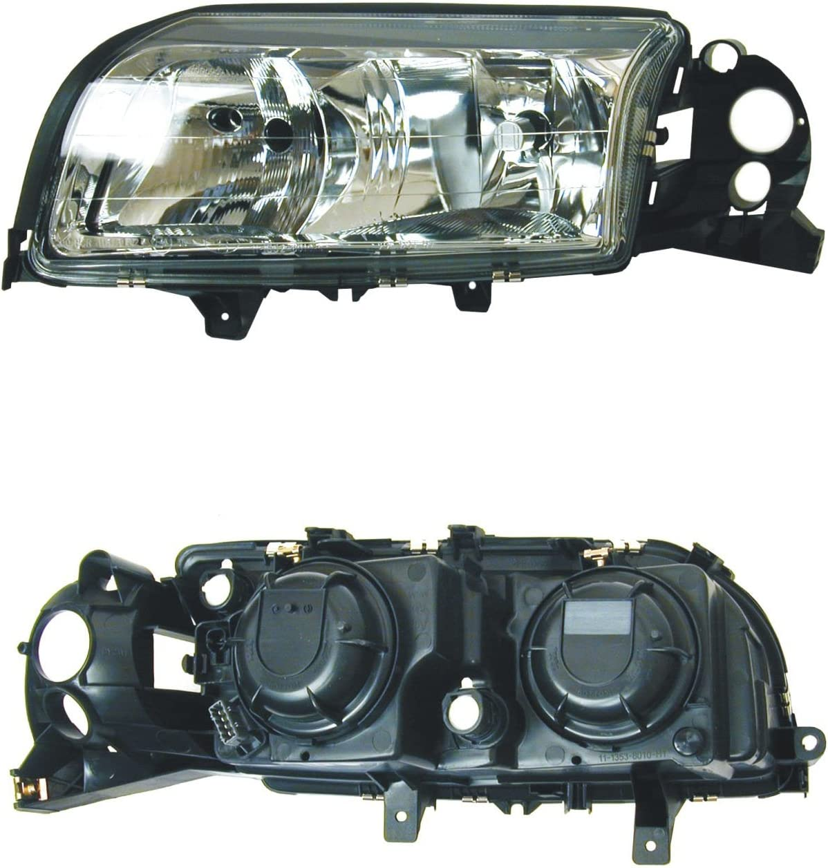 URO Parts 8693563LENS Left Halogen Headlight Lens