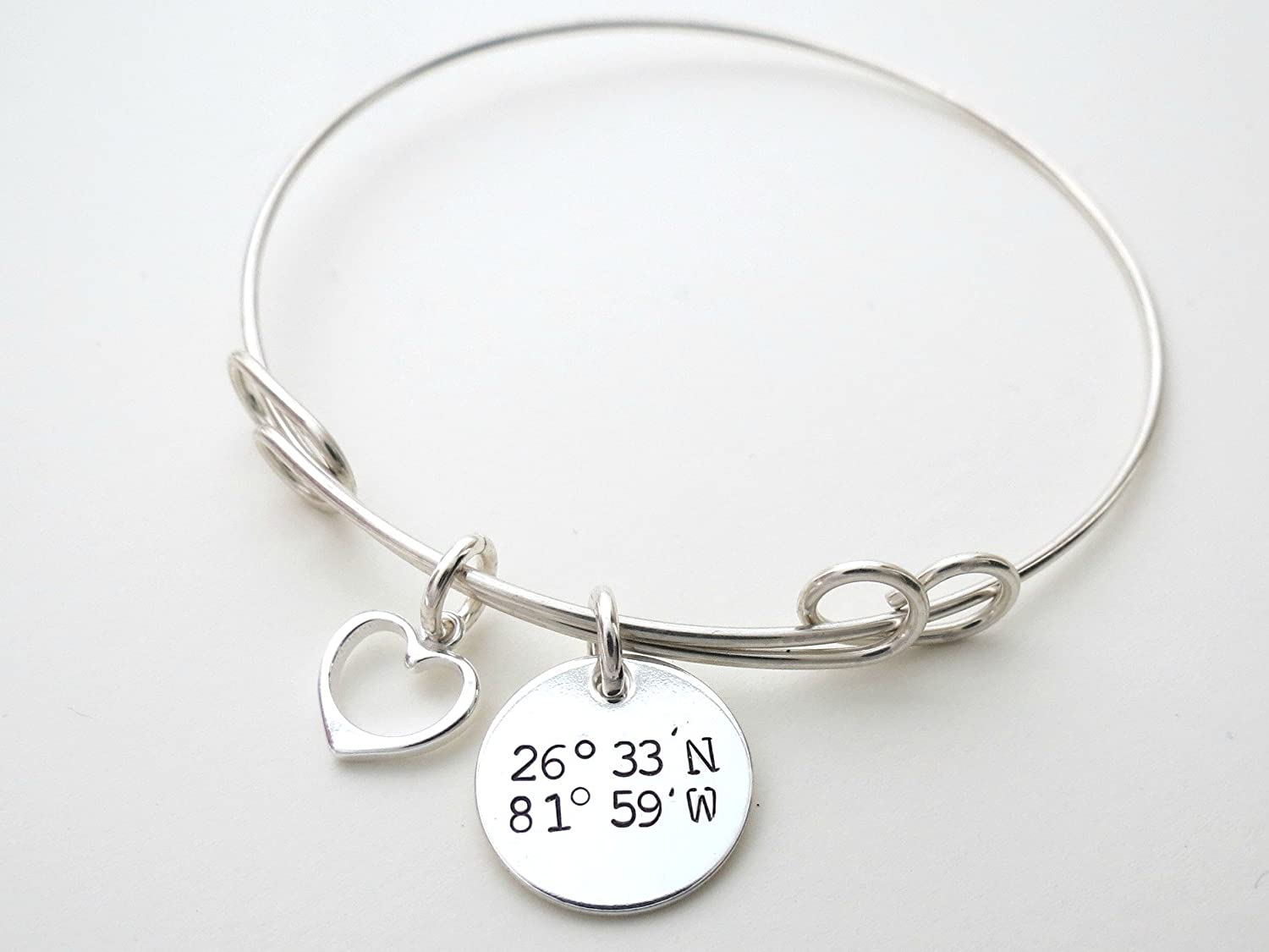 inspirational location custom bracelets coordinate gps cuff gift message bracelet personalized braceletcompass comp best coordinates