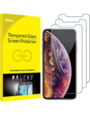 JETech Screen Protector for iPhone XS and iPhone X, Case Friendly, Tempered Glass Film, 3-Pack