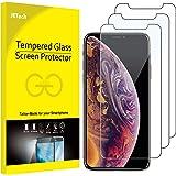 JETech Pellicola Protettiva iPhone XS e iPhone X in Vetro Temperato, 3 Pezzi