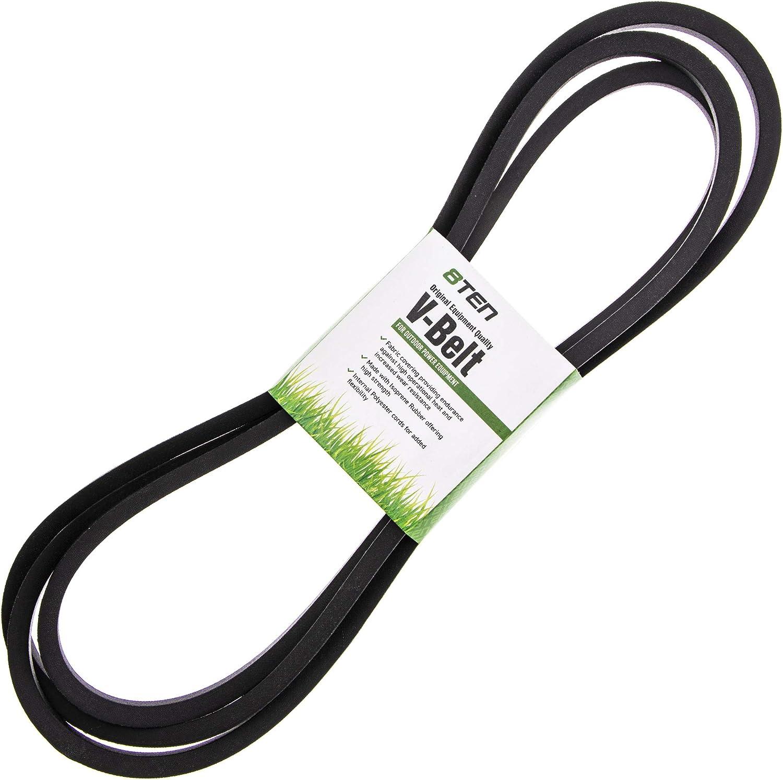 8TEN Deck Belt for Exmark 52 Inch Deck Lazer Z CT HP 523 Zero Turn Mower 1-653368 653368