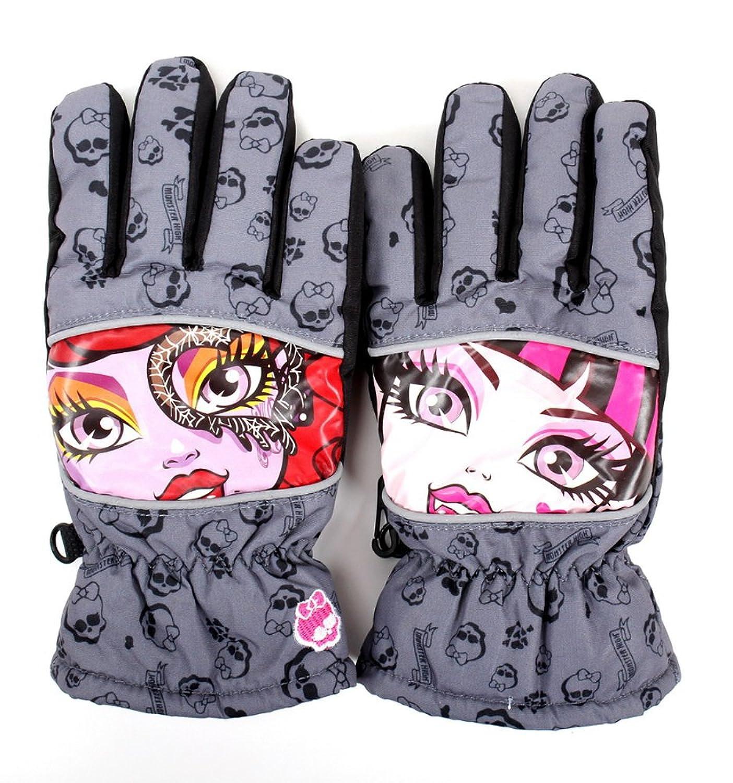 Monster High Ski Handschuhe 5 Finger Skihandschuhe