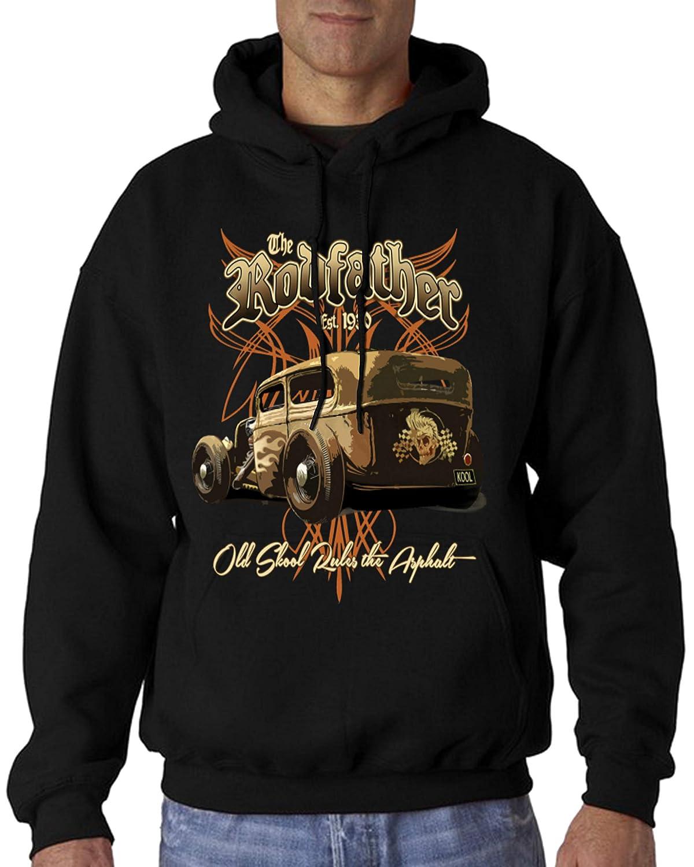 f3fb62797 Shirts & Hemden Freizeithemden & Shirts Velocitee Mens Mechanic Work Shirt  Rusty Nuts Hot Rat Rod Rockabilly W13645