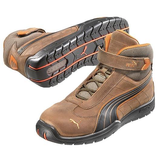 Puma 632180.39 Indy Chaussures de sécurité Mid S3 HRO SRC Taille 39