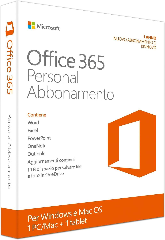 Ms Office 365 Personal 32 Bit 64 Bit Subscr 1yr Eu Software